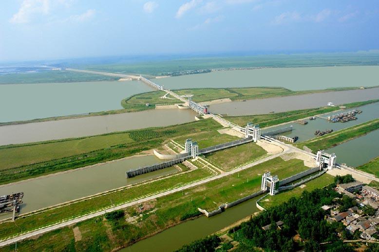 临淮港洪水控制工程
