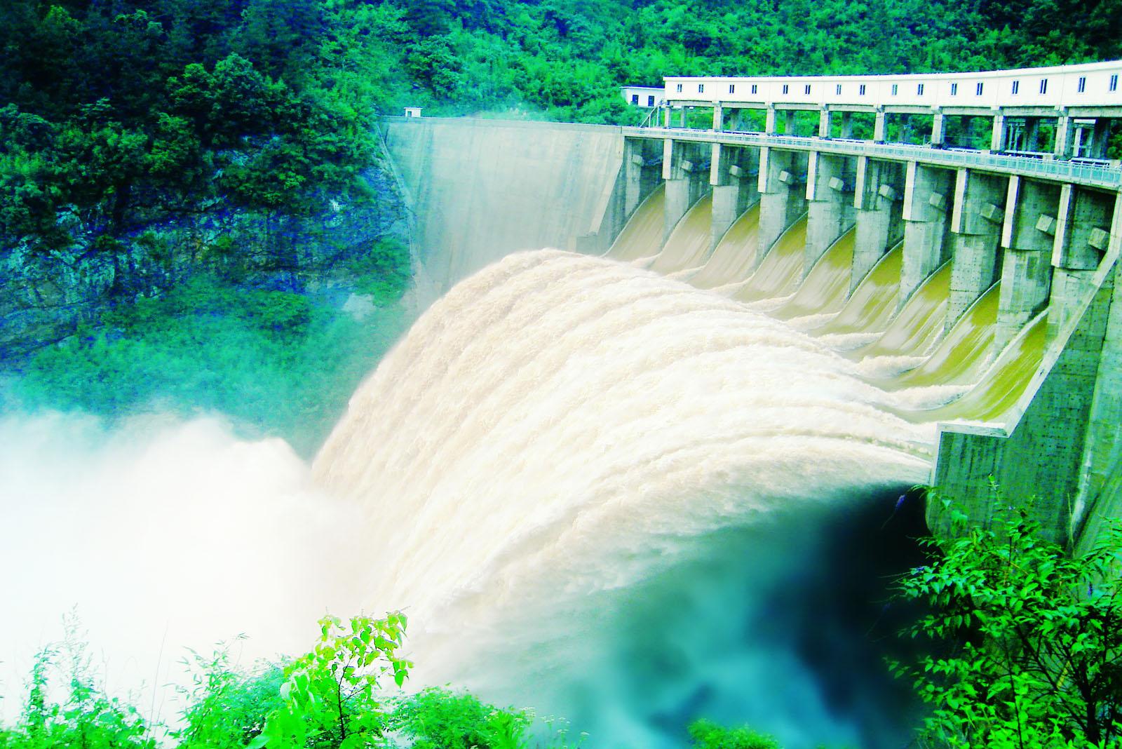 金寨流波水电站