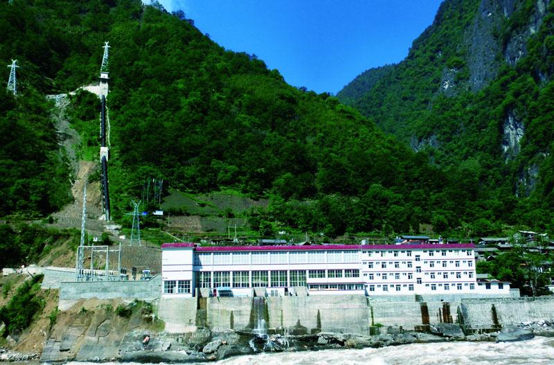 云南怒江丹珠河阶梯水电站