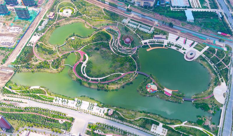 阜南县水系及绿化景观EPC项目